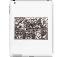 Vile Sense of Taste (BW) iPad Case/Skin