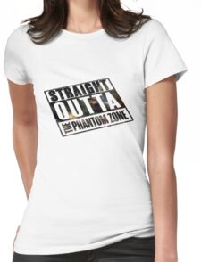 Straight Outta The Phantom Zone - Alt Womens Fitted T-Shirt