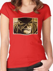 Sweet Distorted Hero Women's Fitted Scoop T-Shirt