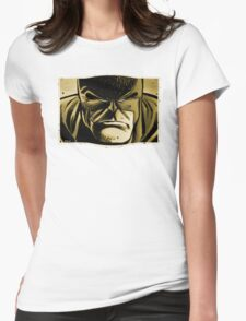 Sweet Distorted Hero Womens Fitted T-Shirt