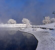 Winter River by stacyrod