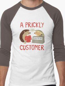 A Prickly Customer Men's Baseball ¾ T-Shirt