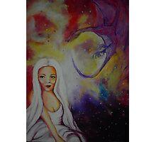 cosmic colours Photographic Print