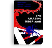 Amazing Spider-Man Pulp Poster Canvas Print
