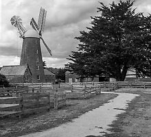 Callington Mill, Oatlands, Tasmania by Brett Rogers