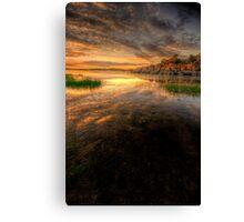 Sunset Calm 2 Canvas Print