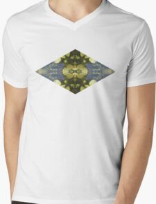 Green nature Mens V-Neck T-Shirt