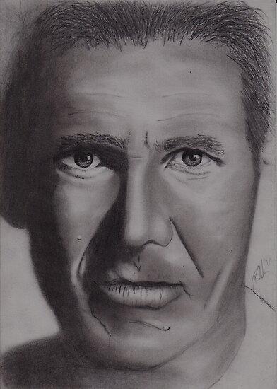Harrison Ford by Paul van den Hoorn