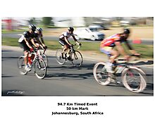 The 94.7 Race - Intermediate Group. Photographic Print