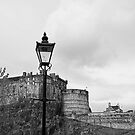 Edinburgh Castle by Lynne Morris