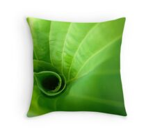 In the Green World Throw Pillow