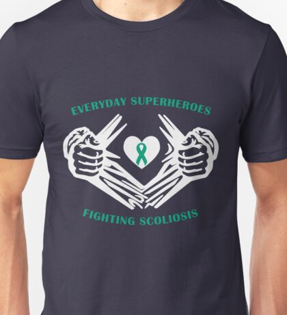 Scoliosis Heroes Unisex T-Shirt