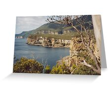 Eagle Hawk Nest - Tasmania Greeting Card