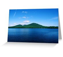 Across Flagstaff Lake (Summer) Greeting Card