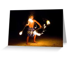 Fire Prince Greeting Card