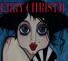 Tullulah / Merry Xmas by Barbara Cannon  ART.. AKA Barbieville
