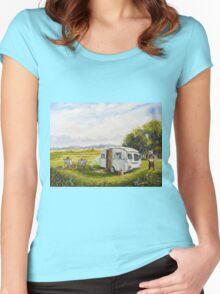 Caravan peril Women's Fitted Scoop T-Shirt
