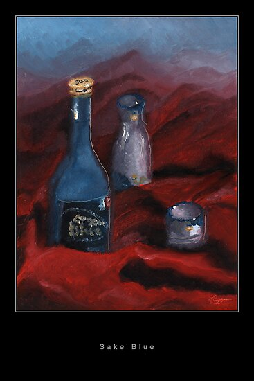 Sake Blue by Steven Pegg