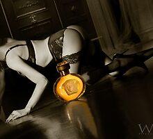Kristian with Versace. by Julian Wilde