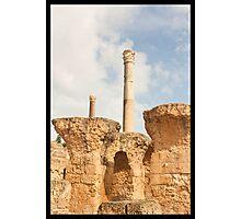 Roman Baths - Carthage Photographic Print