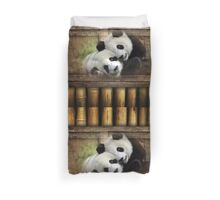 Panda Love Duvet Cover