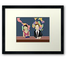 Saturday Night Live S38E10 Framed Print
