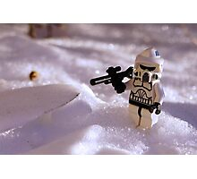 Snow Trooper Photographic Print