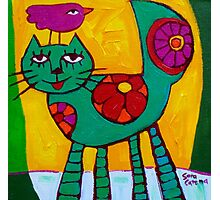 THE  LOVE  CAT  Photographic Print
