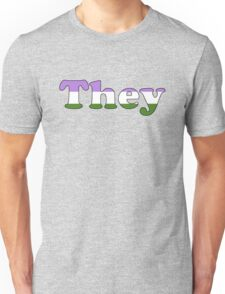 They (Genderqueer) T-Shirt
