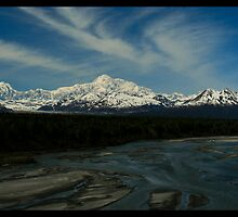 Mt. McKinley and the Alaska Range by Melissa Seaback