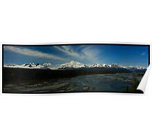 Mt. McKinley and the Alaska Range Poster