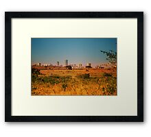 Nairobi National Park, Kenya Framed Print