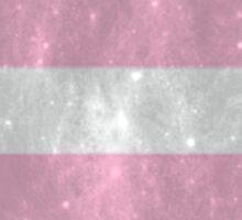 Demigirl Pride Police Box Sticker