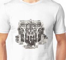 Kawasaki Z650 Engine cutaway. Unisex T-Shirt