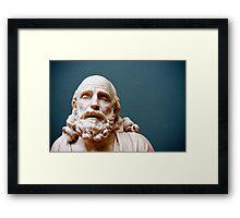 philosophy of pleasure Framed Print