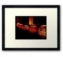 Would a Turnip by any other name? Framed Print