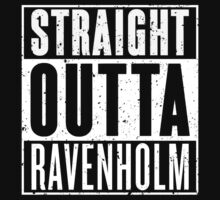 Straight Outta Ravenholm Kids Clothes