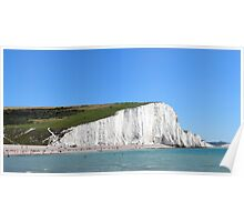 Seven Sisters, Sussex, England Poster