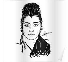Lauren / Mulan Digital Sketch  Poster