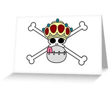 One piece - Wapol emblem Greeting Card