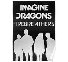 Firebreathers Design 1 Poster