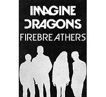 Firebreathers Design 1 Photographic Print