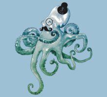 Monocle Octopus Kids Tee