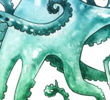 Monocle Octopus Sticker