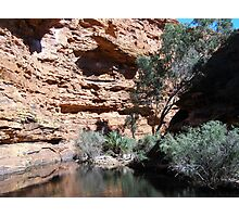 400ft rock wall at the bend in Garden of Eden. N.T. Photographic Print