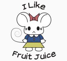 I Like Fruit Juice -- Original Kids Clothes