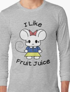 I Like Fruit Juice -- Original Long Sleeve T-Shirt