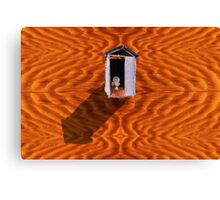 Dunny in the Desert Canvas Print