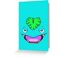 Venusaur Greeting Card