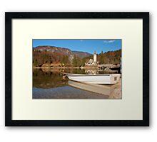 Lake moods Framed Print
